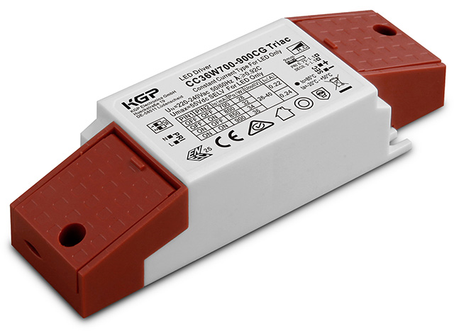 Triac dimmable Constant Current LED Driver with closed cord grip
