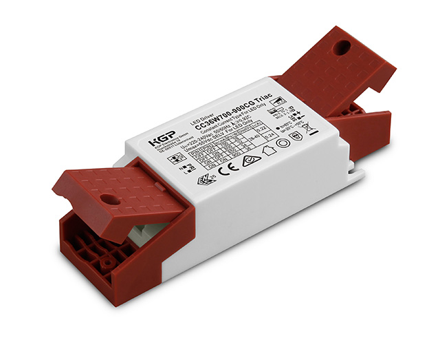 Triac dimmable Constant Current LED Driver with opened cord grip