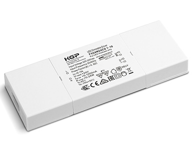 1-10V Dimmable Constant Voltage LED Driver - Flat