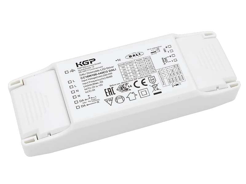 DALI and 1-10V dimmable LED Driver in Compact Housing
