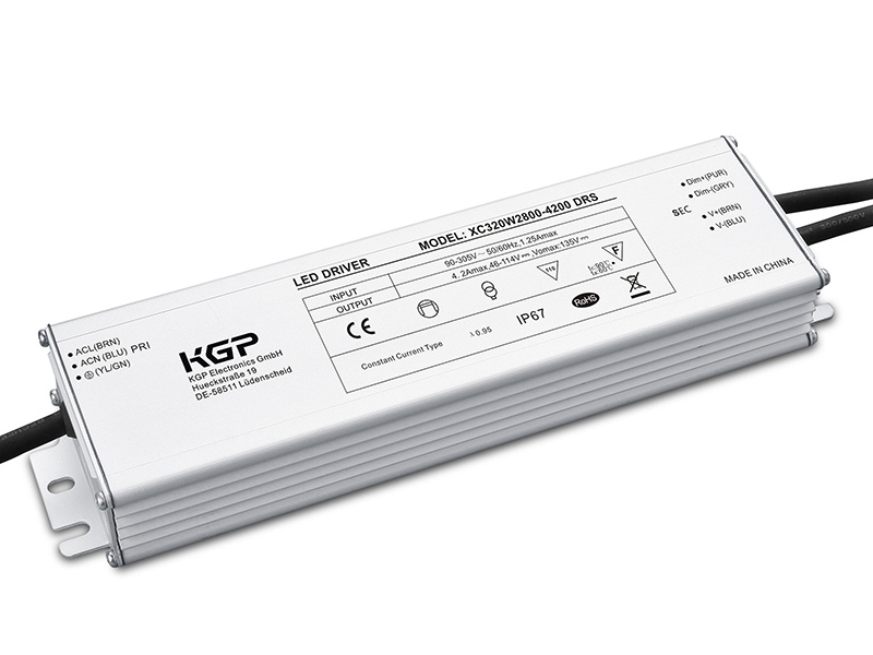 outdoor ip67  constant current led driver with 320w and
