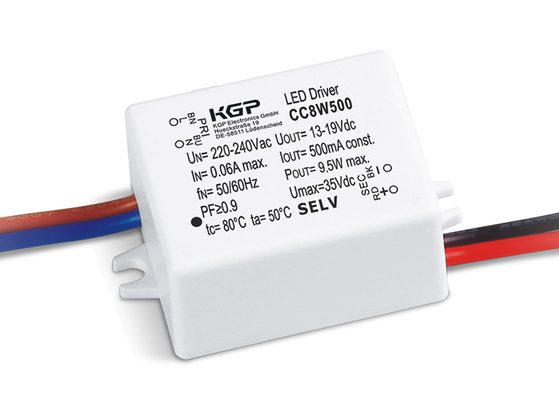 LED Driver cc 8watt 120ma - 500ma
