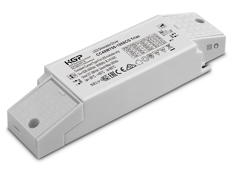 Constant Current Triac LED Driver 40W | 700-1050mA