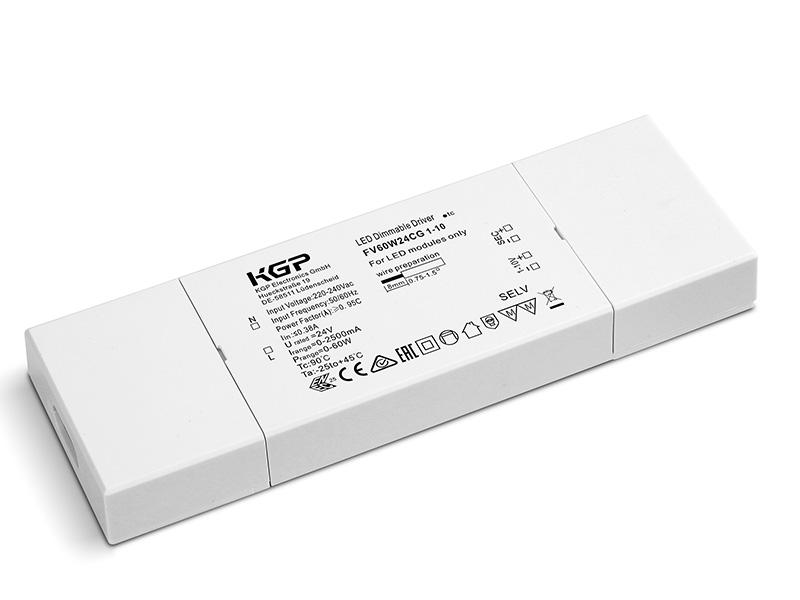Constant Voltage LED Driver Flat 60 Watt and 24 Volt