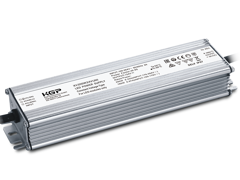 Outdoor Constant Voltage LED Driver 200Watts | 24Volts UNI