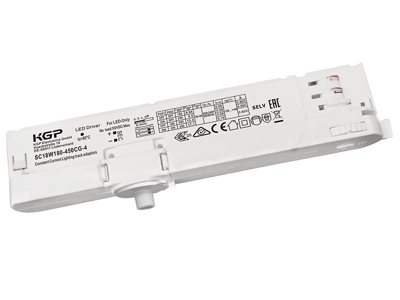 Constant Current Track Light LED Driver 18 Watt